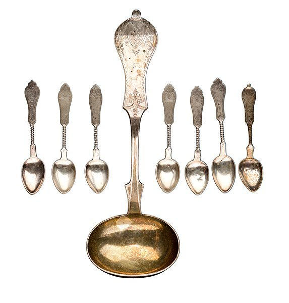Duhme Ladle and Twist Spoons