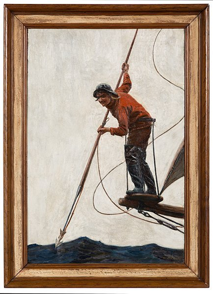 Young Whaler by H.J. Peck