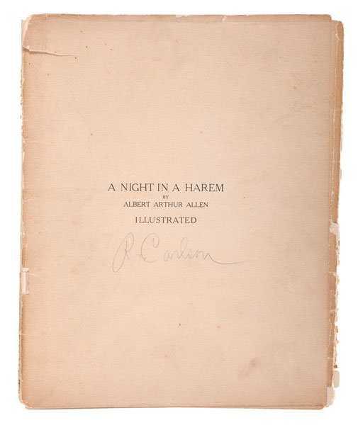 Albert Arthur Allen Vintage 8 x 10 Photo Nude Woman Silver