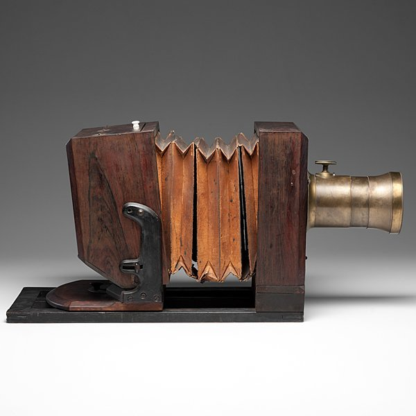 Very Rare Lewis-Style Whole Plate Daguerreotype Camera