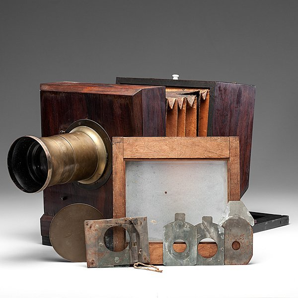 Very Rare Lewis-Style Whole Plate Daguerreotype Camera - 2