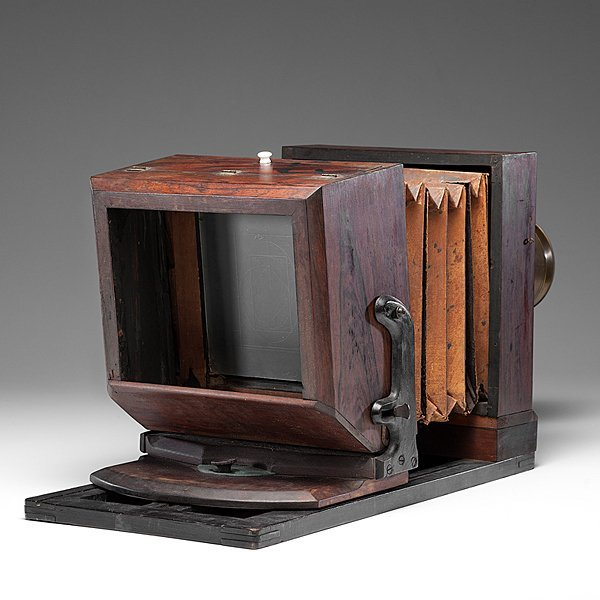 Very Rare Lewis-Style Whole Plate Daguerreotype Camera - 3