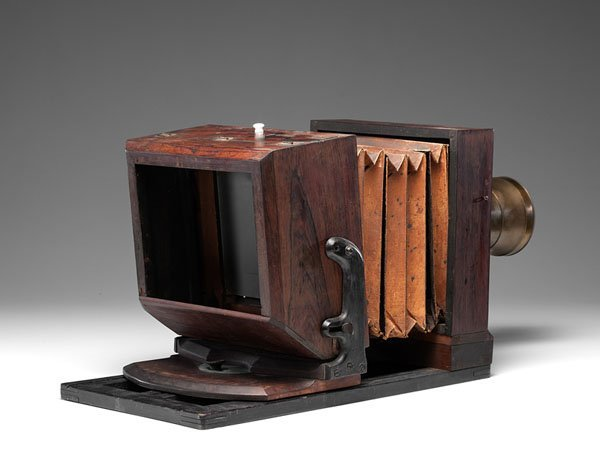 Very Rare Lewis-Style Whole Plate Daguerreotype Camera - 5