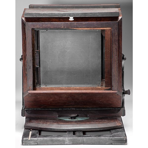 Very Rare Lewis-Style Whole Plate Daguerreotype Camera - 8