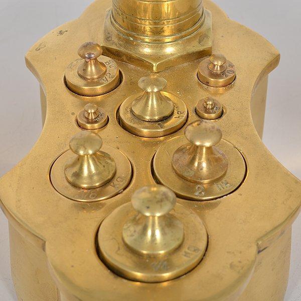Maco Braga Figural Brass Scale - 3