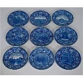 Historical StaffordshireTransferware Plates