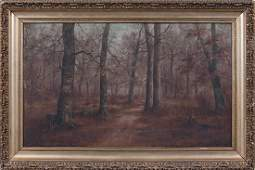 Woodland Landscape by M. D. Williams