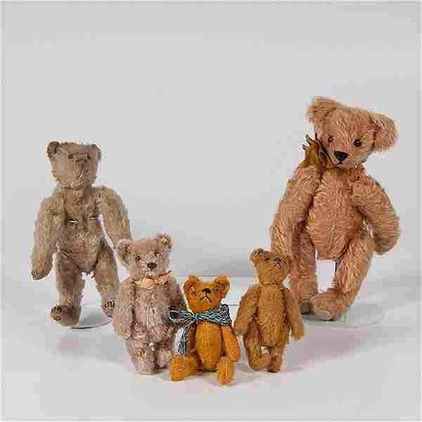 Steiff Jointed Teddy Bears, Plus