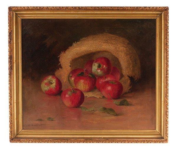 Still Life of Apples by J.E. Bradstreet
