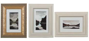 A Group of 5 Russian Paintings by Alla Checkova