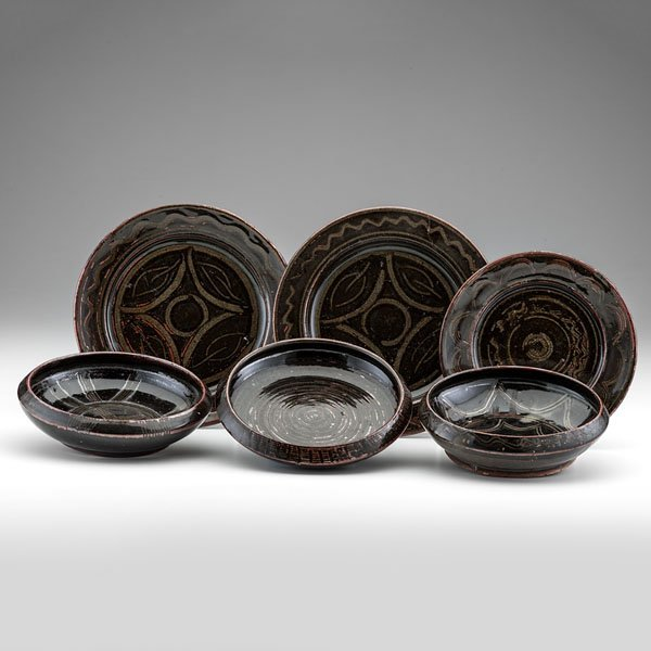 Abuja Bowl and Plate Set by Kande Ushafa (Nigeria)