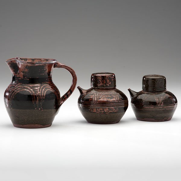 Abuja Pottery Oil Jars and Pitcher, by Tanko Mohammud