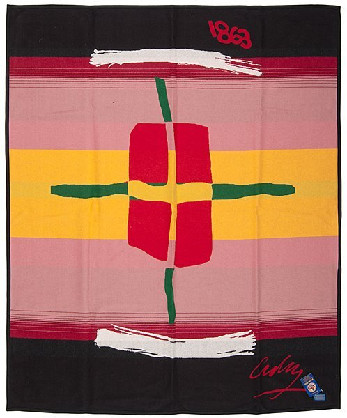 Pendleton Blanket No. 1, Designed by Dale Chihuly