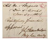 Joshua Chamberlain, CMOH Gettysburg, ANS, November 30,