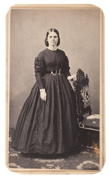 Rare Cdv Pose Of Olive Oatman Indian Captive