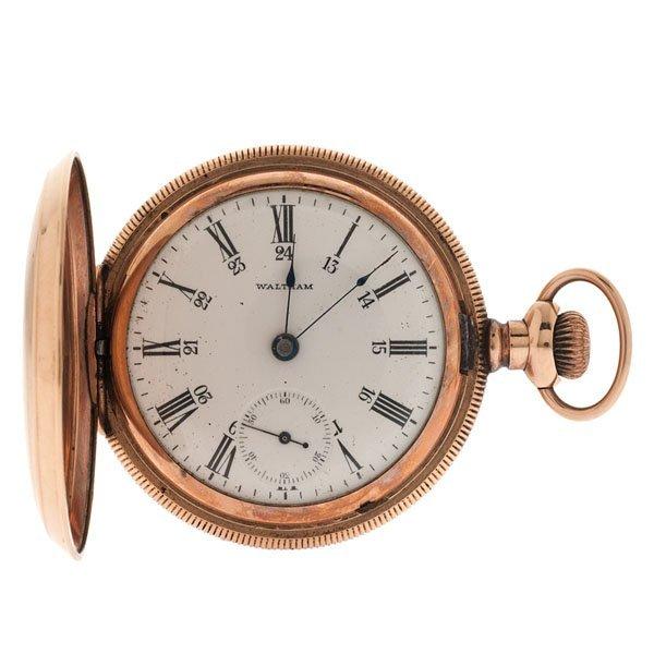 Waltham Canadian Model Hunter-Case Pocket Watch