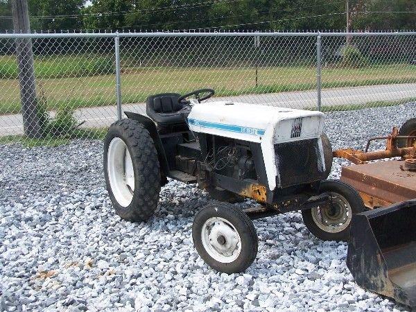 6: International Cub 154 Low-Boy tractor