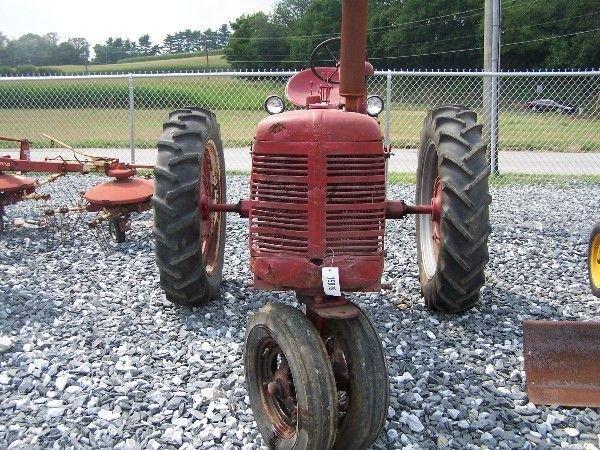 24: Farmall C Farm Tractor IH International