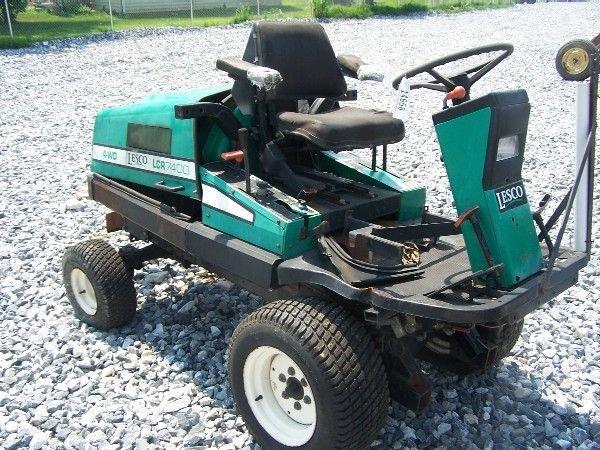 45: Lesco LC 7400 4x4 Front Cut Mower w/ Perkins Diesel
