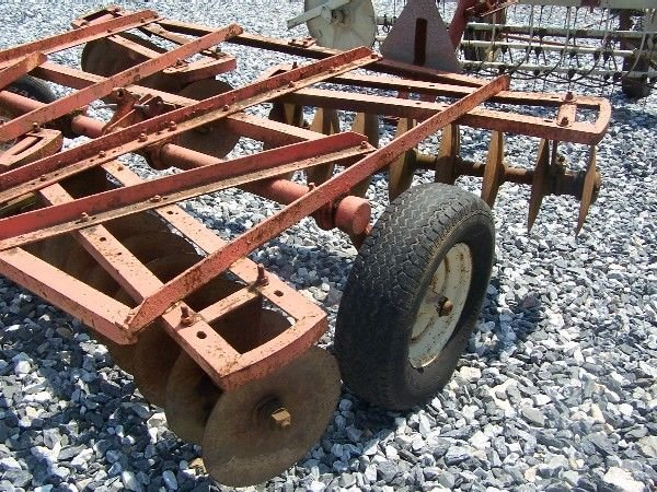 50: Allis Chalmers 8' Transport Disc for Tractors - 3