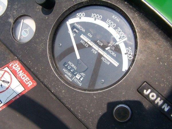 56: John Deere 3020 Diesel Side Consile Power Shift Tra - 9