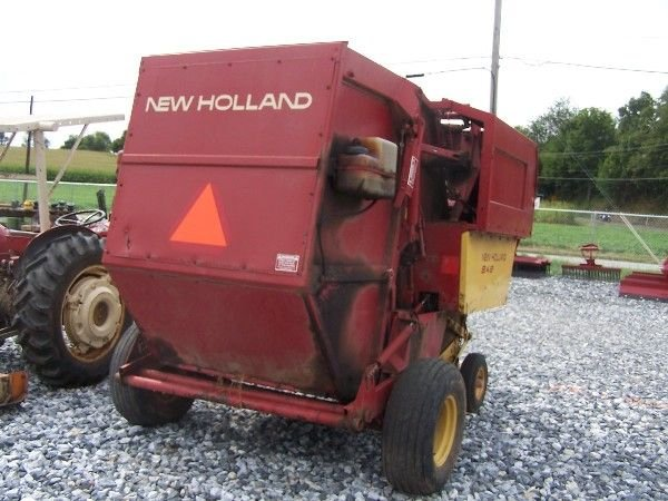 1073: NEW HOLLAND 848 ROUND BALER FOR TRACTORS!!! - 6