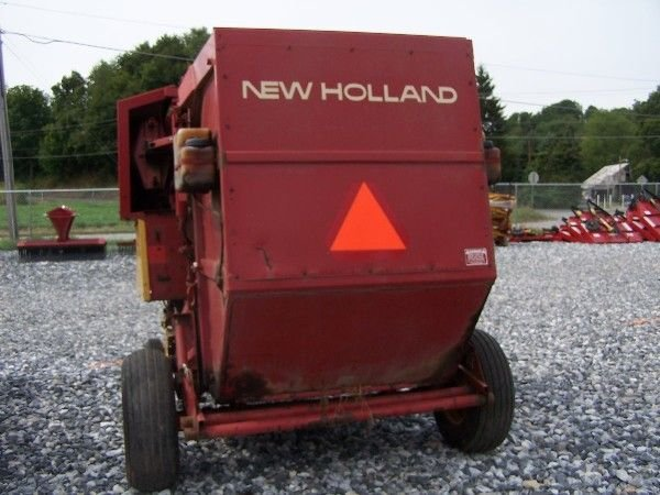 1073: NEW HOLLAND 848 ROUND BALER FOR TRACTORS!!! - 7