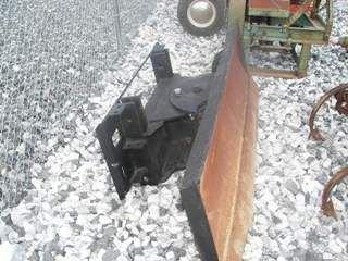 10: Snow Blade for front of Skid Steer loader