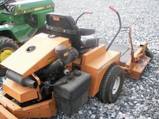 49: Woods 5215 Zero turn mower, Kubota Diesel !!