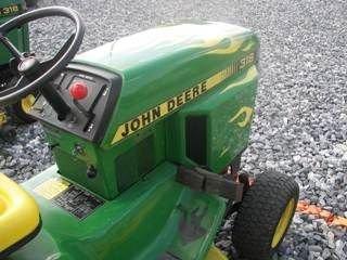 57: John Deere 318 L&G Tractor w/ Mower