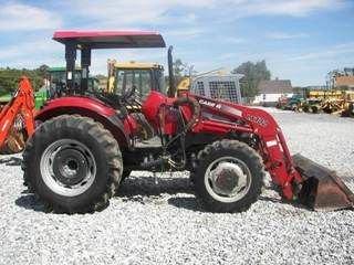 115: Case IH JX 75 Tractor w/ Loader Nice