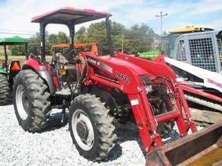 115: Case IH JX 75 Tractor w/ Loader Nice - 2