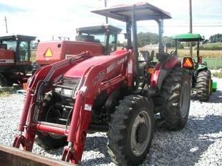 115: Case IH JX 75 Tractor w/ Loader Nice - 4