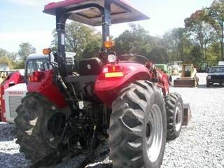 115: Case IH JX 75 Tractor w/ Loader Nice - 9