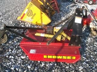 201: Unused 4ft Howse Bush Hog for tractor