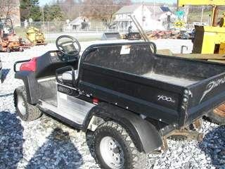 67: Bobcat Club Car 1200 Utility Cart w/ Dump
