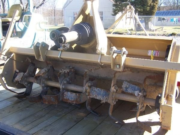347: Nice Landpride 3pt RT1550 Tiller for Compact Tract