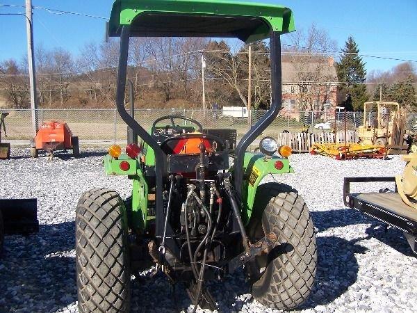 350: Nice Deutz Allis 5230 Compact Tractor w/ Front Bla - 6