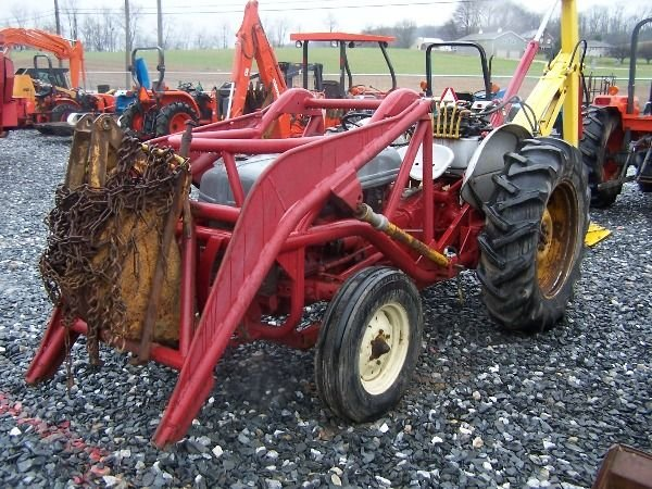 Ford 9n Loader : Ford n tractor loader backhoe