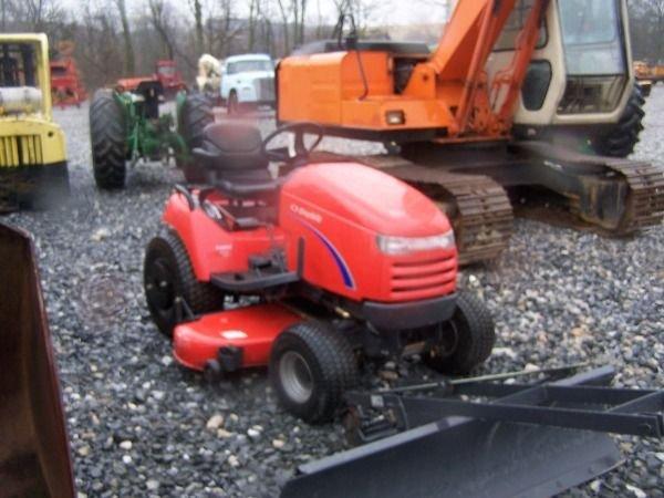 466: Nice Simplicity Legacy Diesel Lawn Mower w/ Front  - 3