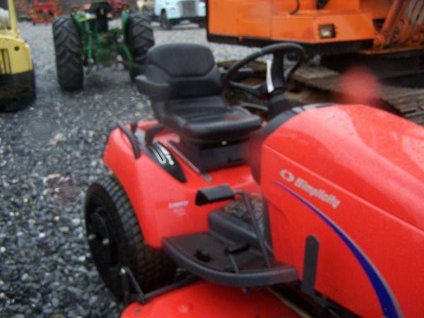 466: Nice Simplicity Legacy Diesel Lawn Mower w/ Front  - 4