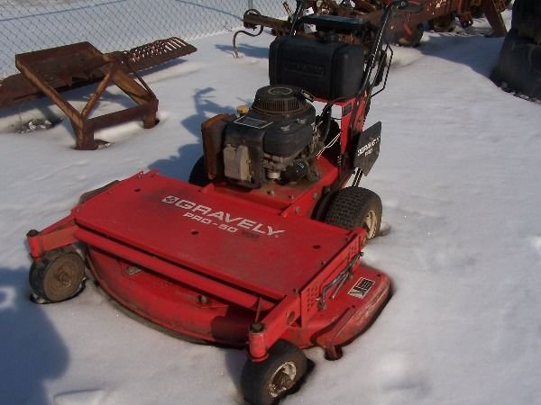 13: Gravely PRO 50 Walk Behind Tractor Mower