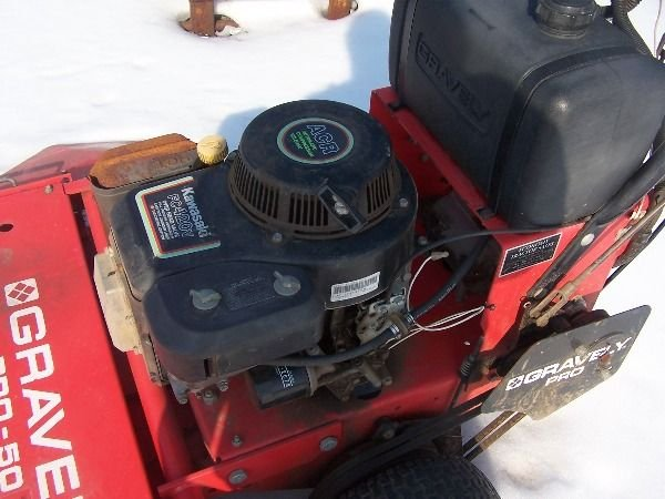 13: Gravely PRO 50 Walk Behind Tractor Mower - 3