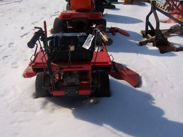 13: Gravely PRO 50 Walk Behind Tractor Mower - 4