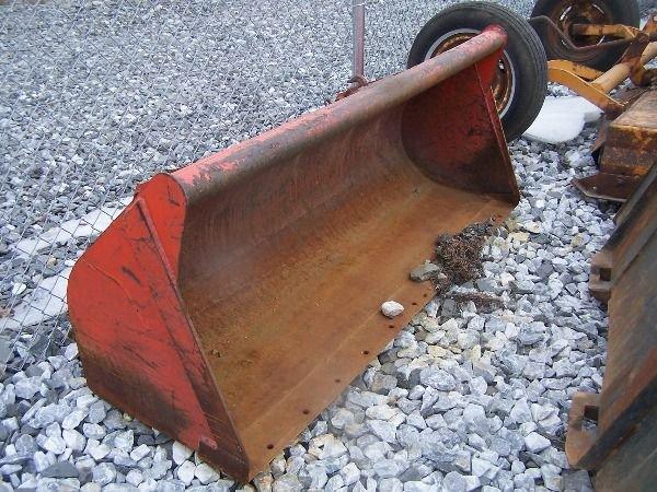 "19: Kubota 70"" Loader Bucket for tractor"