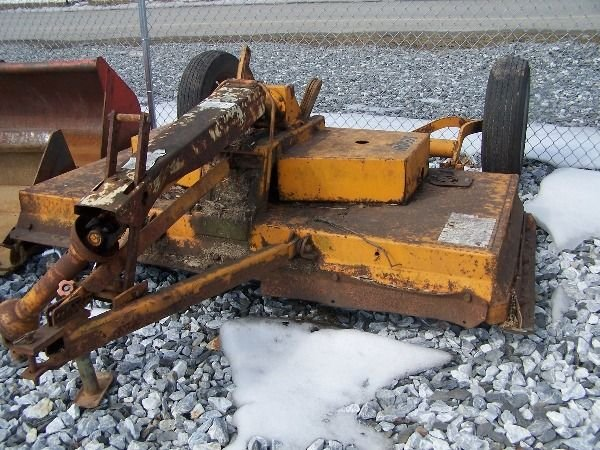 20: Woods C-80 Mower for tractor