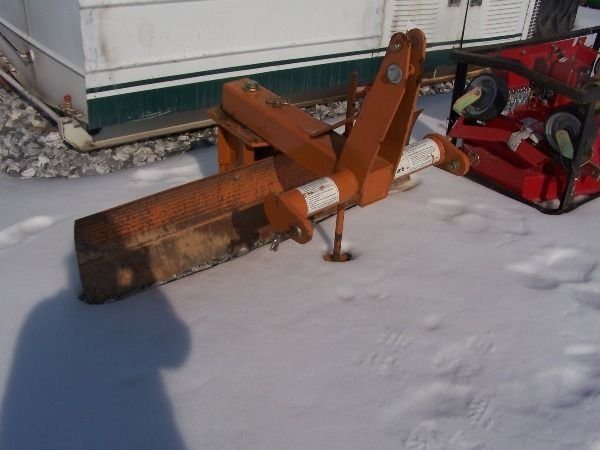 22: Woods RB 60 3pt Blade for tractor