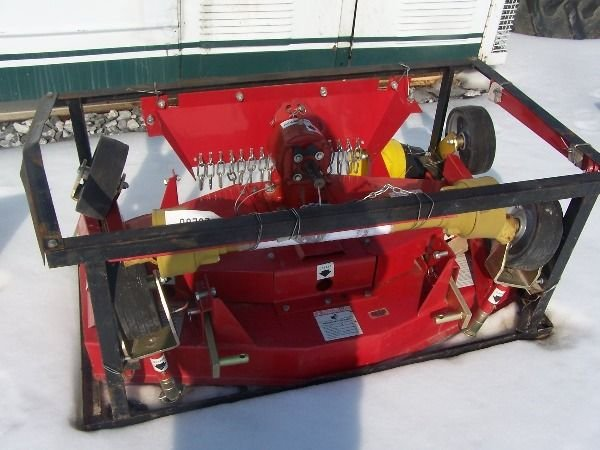 """23: Chase 48"""" Finish mower for tractor """"Unused"""""""