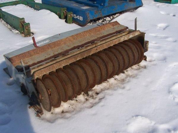 24: Olathe 3pt Aerator seeder for tractor