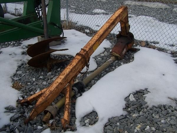 33: Linebach 9000 HD Post Hole Digger for tractor
